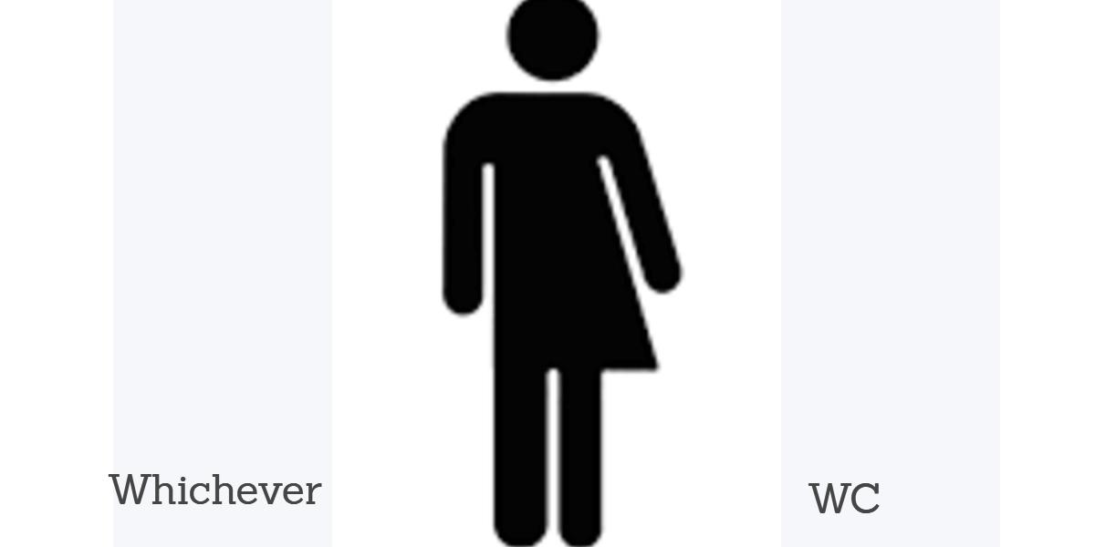 Genderneutrale toiletten en haar slachtoffers
