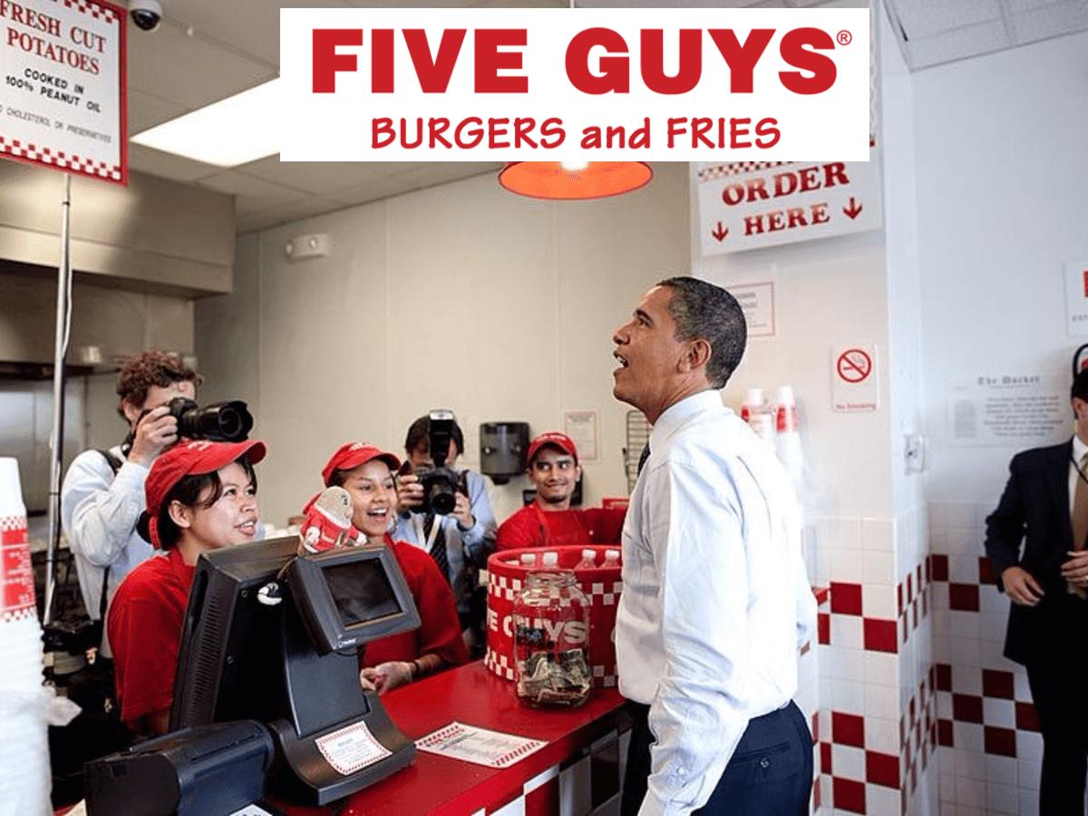 Five Guys!